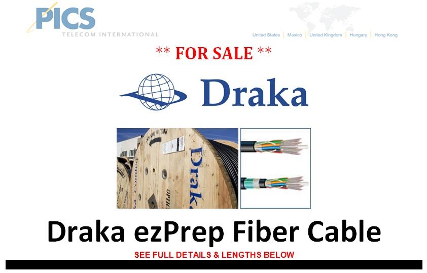 Draka ezPrep Fiber Cable For Sale Top