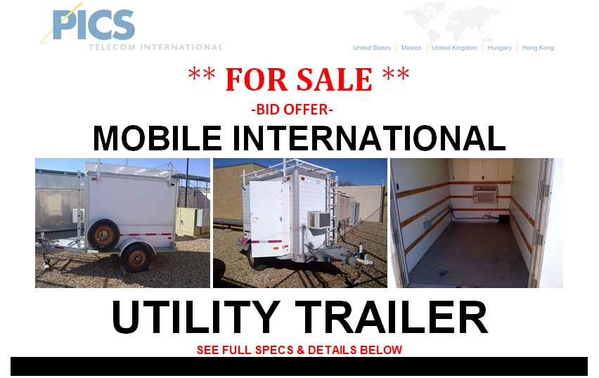 Mobile International Utility Trailer For Sale Top