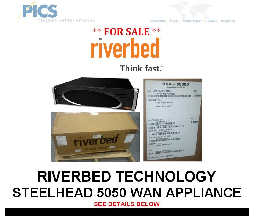 Riverbed Steelhead 5050 WAN Appliance For Sale Top (11.12.13)