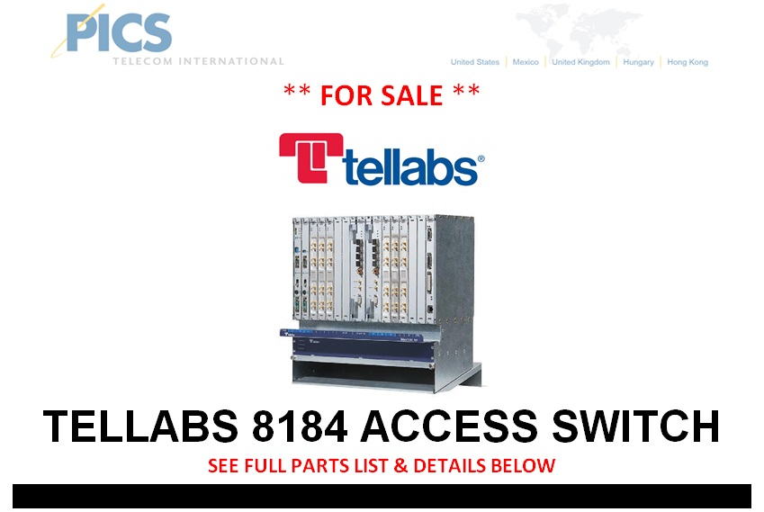Tellabs 8184 Access Switch For Sale Top (11.8.13)