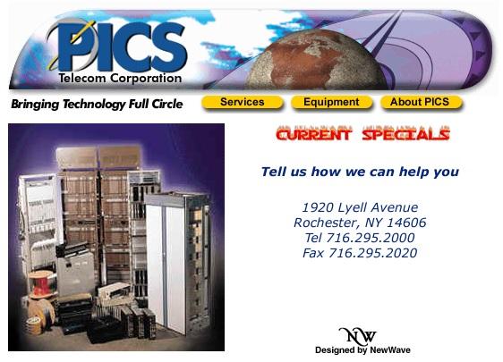 PICS Website 1999
