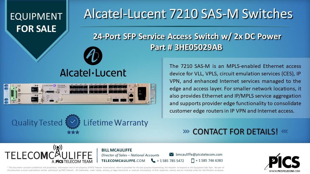 Alcatel_7210 SAS-M; Part # 3HE05029AB