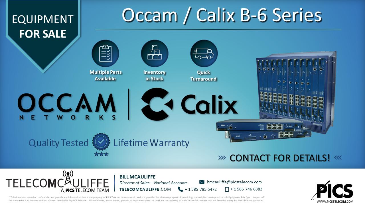 Occam-Calix-B6