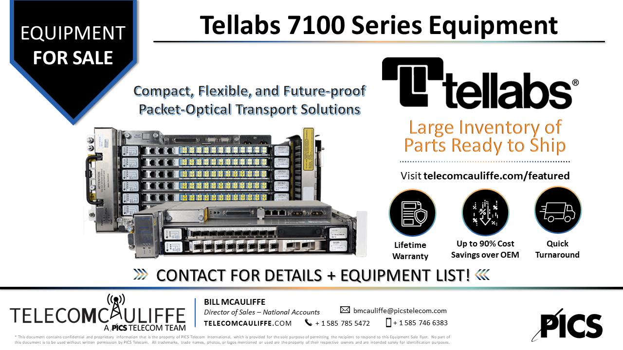TELECOMCAULIFFE - PICS TELECOM - Tellabs 7100