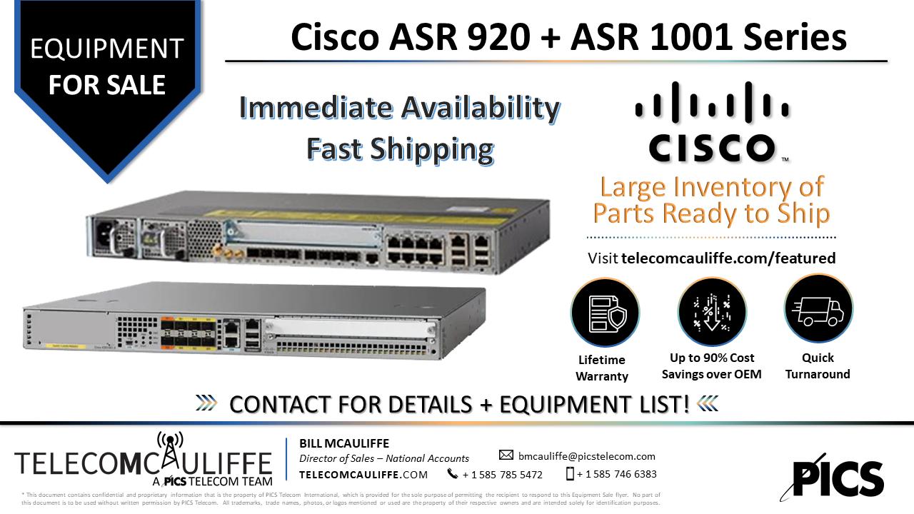 TELECOMCAULIFFE-PICS-Telecom-ForSale-Cisco ASR 920 -1001